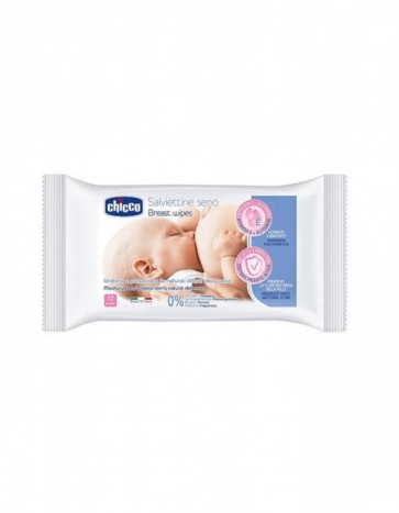 Chicco Cleansing Breast Wipes 72 Pcs