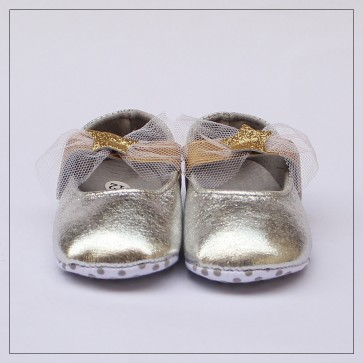 Baby Steps Baby Shoes Golden