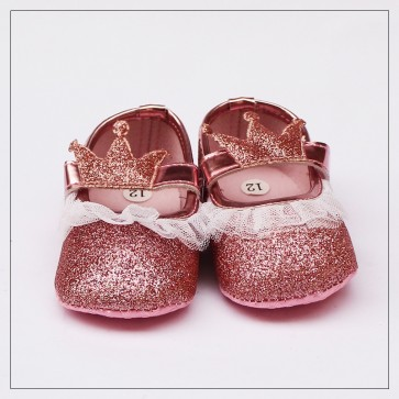 Baby Steps Baby Shoes Golden Crown