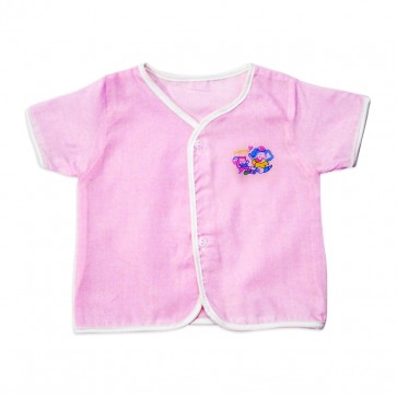 Little Star newborn Baby Jhabla Pink