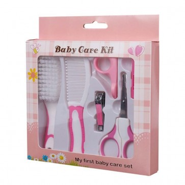 Little Star Baby Care Grooming Kit Pink (6pcs)
