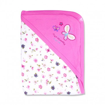 Little Star Wrapping Sheet Butterfly Pink
