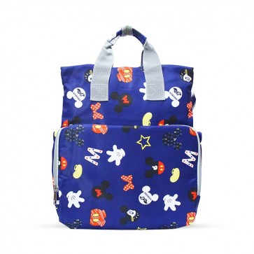 Baby Diaper Bag (Waterproof) Micky Mouse Navy Blue