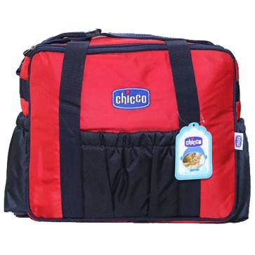 Chicco Baby Diapers Bag Blue & Red
