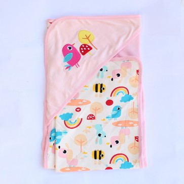 Little One Baby Blanket Pink