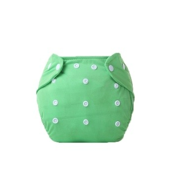 Little One Reusable Baby Nappies Green