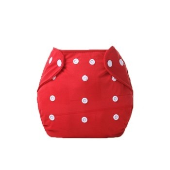 Little One Reusable Baby Nappies Red