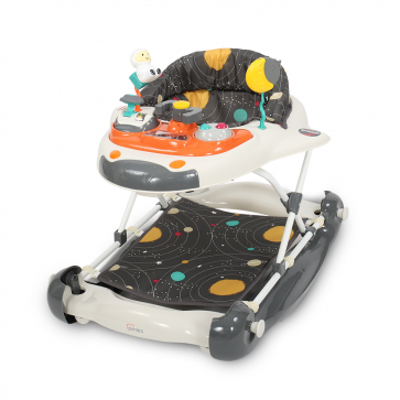 TINNIES BABY WALKER W/ROCKING GREY