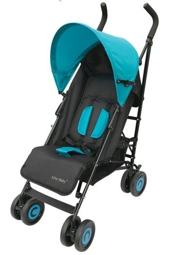 Bachaa Party Baby Foldable Stroller - Blue