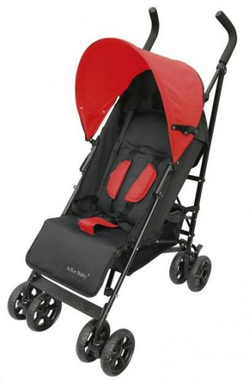 Bachaa Party Baby Foldable Stroller - Red