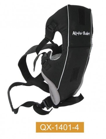 Bachaa Party Ultra Soft Baby Carrier - Black