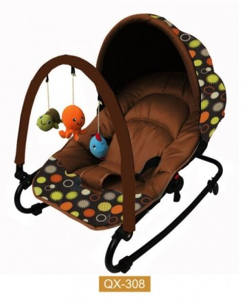 Bachaa Party Hanging Toys Baby Rocker - Brown