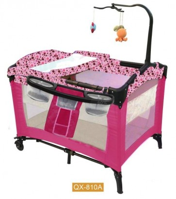 Bachaa Party Hanging Toys Baby Play Pen - Pink