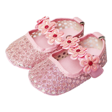 Baby Steps Shoes Shiny Pink