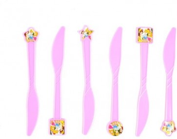 Little Sparks 6pcs Knife Set Pink