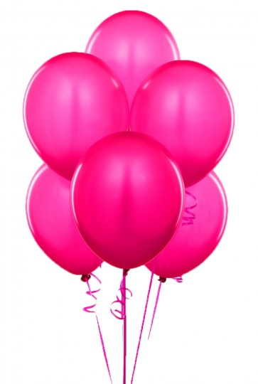 Little Sparks Plain Balloons Pack Of 100 Pink