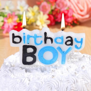 Little Sparks Birthday Boy Candle