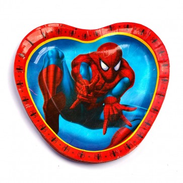 Little Sparks Birthday Disposable Plate 10pcs Spiderman
