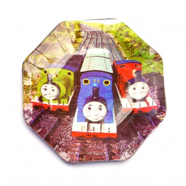 Little Sparks Birthday Disposable Plate 10pcs Trains