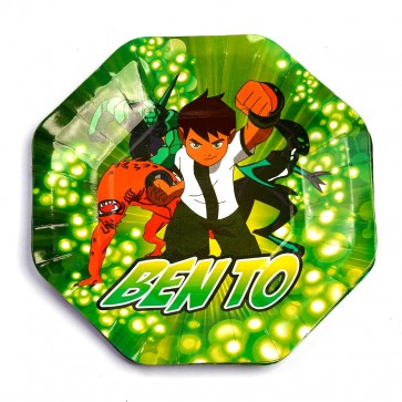 Little Sparks Birthday Disposable Plate 10pcs Ben 10