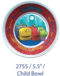 Chuggington Children Bowl