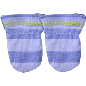 CUBY BABY MITTENS BLUE
