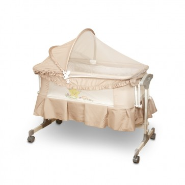 TINNIES BABY CRIB FOR NEW BORN BEIGE