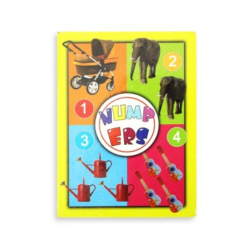 Early Learning Card Book Numers