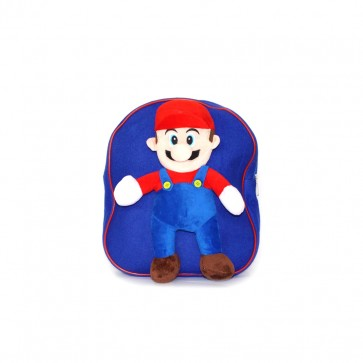 Little Star Cartoon Bag Mario Blue