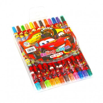 Little Star Rolling Crayon Colors Cars
