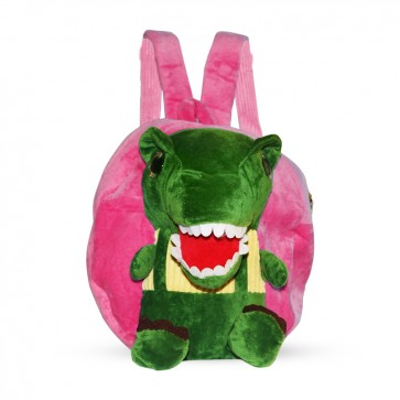 Little Sparks Baby Stuff Bag Dino Green & Pink