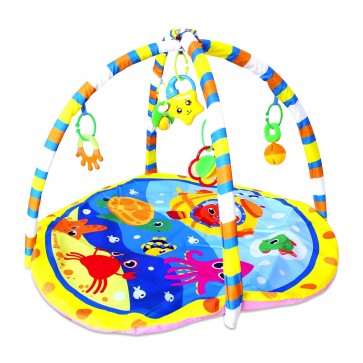 Little Sparks Baby Playgym Sea Animals Blue