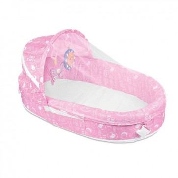 iBaby Baby Travel Bassinet Pink