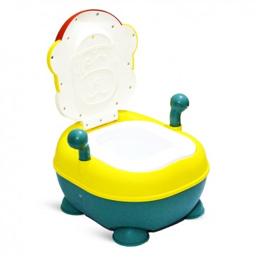 Little Sparks Baby Potty Trainer Monkey Yellow & Red