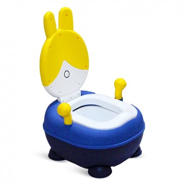 Little Sparks Baby Potty Trainer Rabbit Yellow
