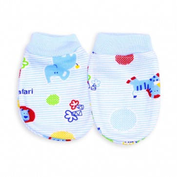 Little Sparks Baby Mittens Blue