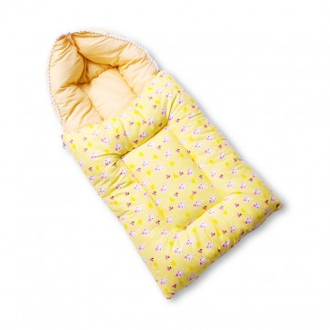 Little Sparks Baby Carry Nest Rabbit Yellow