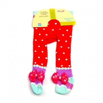 Little Sparks Baby Tights Red (0-6 Months)
