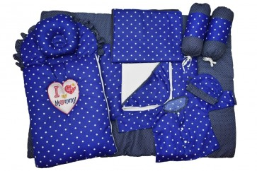 Jack&Jill 9pcs Set Mommy Blue