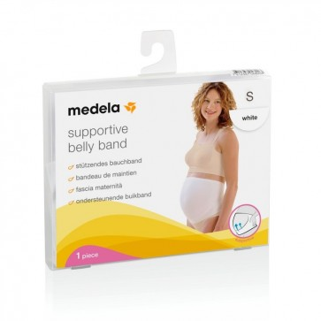 Medela Supportive Belly Band - Medium (White)