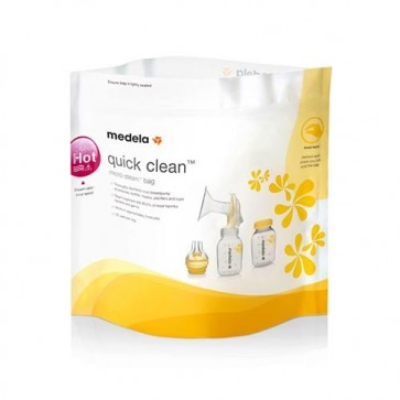 Medela Quick Clean Microwave Bags (Pack of 5)