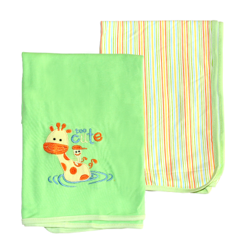 Wonder Child 2pcs Baby Blanket Giraffe