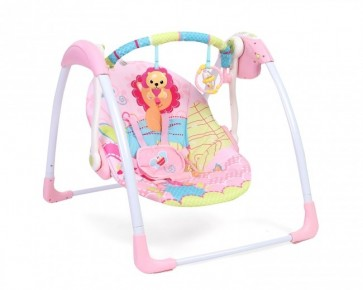 Mastela Delux Portable Swing Pink