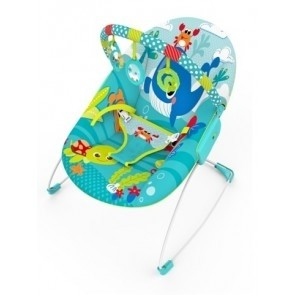Mastela Music & Soothe Bouncer Blue