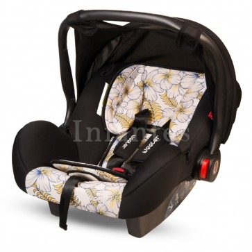 Weeler Baby Carry Cot Printed White & Black