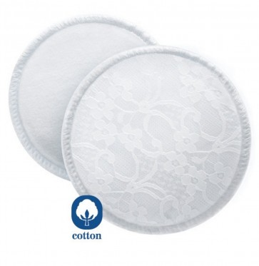 Avent Washable Breast Pads 6pk + bag