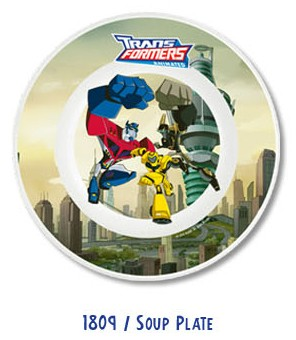 "Transformers Animated 9"" Soup Plate"