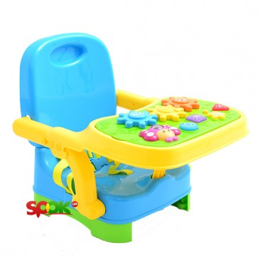 Seat booster with a game board WinFun 0808 NL