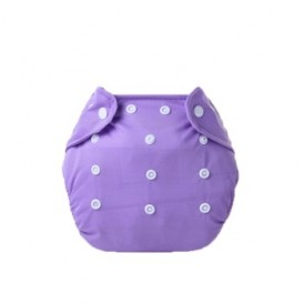 Little One Reusable Baby Nappies Purple