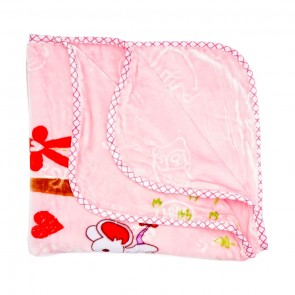 Little Spark Double Ply Blanket Pink